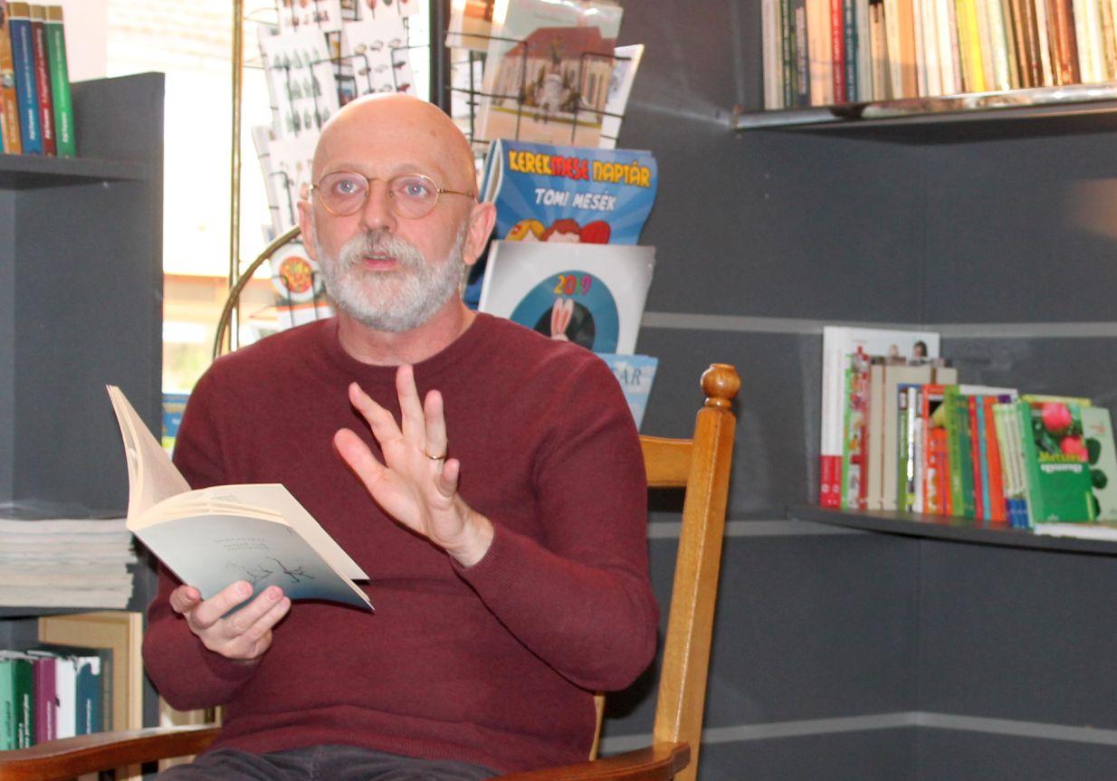 Visky András volt a Törzsasztal 2019 májusi vendége